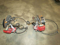 JDM Honda DC5 Type R Acura rsx rear spindles, Calipers, Hubs