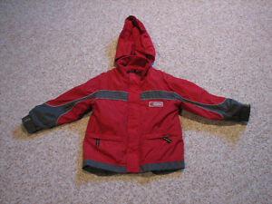 Boy's Fall or Spring Fleece Lined Jacket with detachable hood