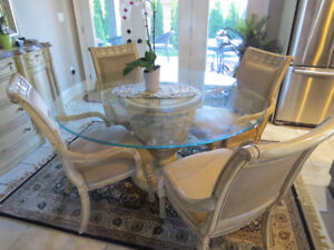 Luxury Dining room Set with sideboard