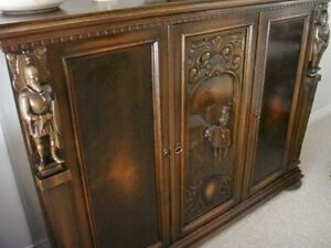 ANTIQUE MEDIEVAL FURNITURE - HIGH END
