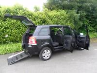 Vauxhall/Opel Zafira 1.8i 16v VVT Exclusiv Wheelchair accessabli vehicle WAV