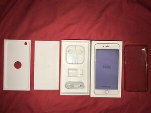 Unlocked iphone 6 plus silver 64GB