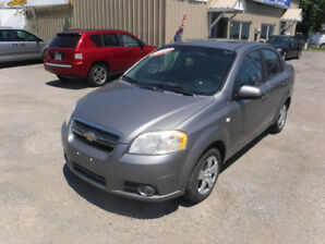 2007 Chevrolet Aveo Sedan CERTIFIED EXCELLENT CONDITION!!!!