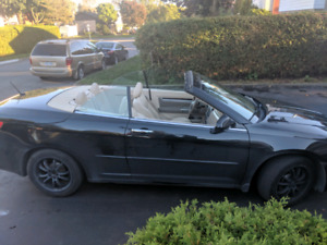 Hard top Convertible 2009 Sebring 146k automatic limited edition