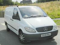 2008 (08) Mercedes-Benz Vito 2.1CDi 109 Panel Van - Long ( High Roof ) 109CDI