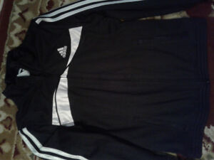 Adidas zip up top size small