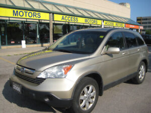 2008 Honda CR-V EX-L, Leather, Sunroof, Clean, Fully Cerified