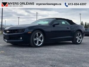 2011 Chevrolet Camaro 2LT  RS LEATHER CONVERTIBLE !!