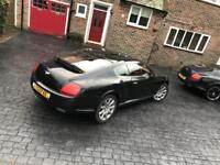 BLACK Bentley Continental GT 6.0 - STUNNING CAR - LOW MILEAGE