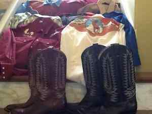 Western clothing - square dancing shirts and boots St. John's Newfoundland image 1