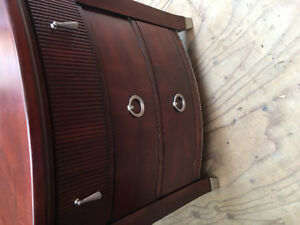 ARMOIRE, END TABLE