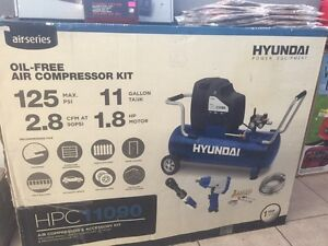 Hyundai oil free air compressor