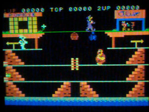 21 COLECOVISION GAMES CLEANED \ TESTED BURGERTIME - Q-BERT