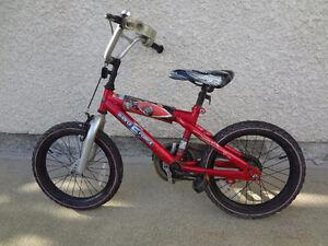 $120 - Hot Wheels 16'' Bike with training wheels. XMAS GIFT