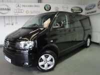 Volkswagen Transporter 2.0TDI ( 140PS ) LWB DSG T32 Highline 1 OWNER