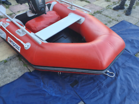 Rib with outboard