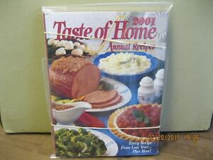 TASTE   OF HOME    ANNUAL RECIPES    YEAR   2001