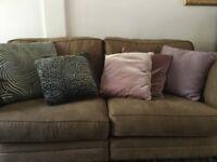 Selection of sofa cushions. £2 each