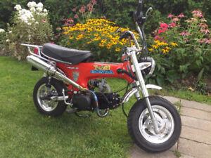 SPÉCIAL FIN DE SAISON Honda CT70 1976 complètement restauré