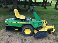 John Deere F525 ride on mower in full working order.