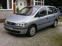 Vauxhall Zafira 1.6i 16v 2001MY Club