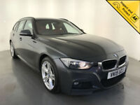 2015 BMW 325D M SPORT DIESEL AUTOMATIC 1 OWNER SERVICE HISTORY FINANCE PX