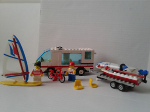 RARE LEGO 6351 Surf N' Sail Camper Town Classic VTG/complete