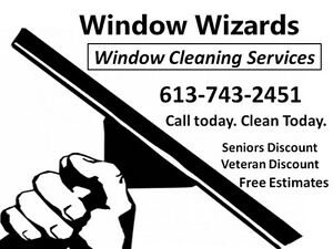 Window Cleaning Services.  Call Today ~ Clean Today!