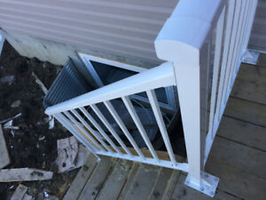 We are selling WELDED aluminum railing $38/Lf supply and install