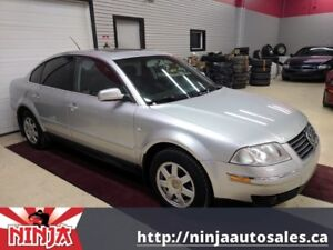 2003 Volkswagen Passat GLS 1.8T-Navi-Sunroof-Leather-Back Up Cam