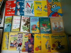 Assorted kid's book lot of 20Dr Seuss, Little Golden Book