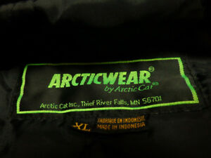 Vintage Arctic Cat jacket  in XL     -recycledgear.ca