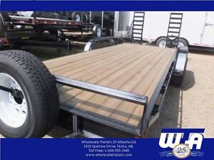 2015 Charger  7x20' Equipment Trailer