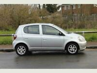 2001 51 Silver Toyota Yaris 1-3 CDX Low Mileage A/C and Sunroof great Cheap Car