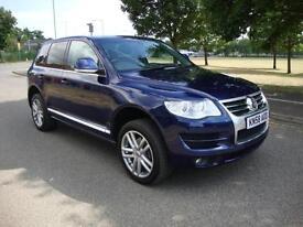 Volkswagen Touareg 3.0TDI V6 Altitude Auto, 2008 58, 94k FSH, Blue Metallic