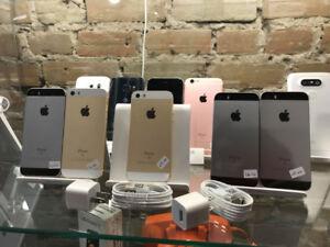 iphone se 64gb comme neuf avec garantie, déverrouillés