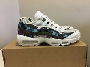 d99a6447f Adapt Gucci LV Supreme hype beast. Nike Air Max 95 ERDL Party White Sz 9