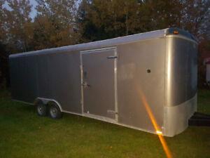 2012  Enclosed Trailer 8.5x24   5200lb axles