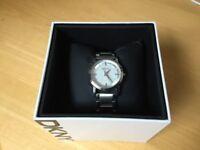 DKNY ladies stainless steel bracelet watch
