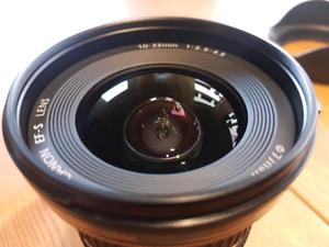 excellent Canon wide angle 10-22