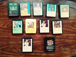 8 Track Tapes - collectors