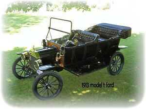 1913 Model T Ford Touring