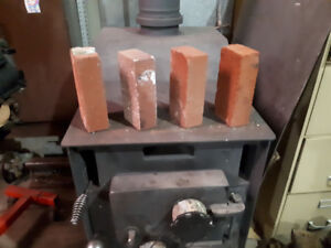198 used clay brick