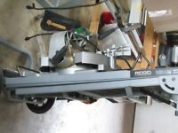 Miter Saw with Utility Stand