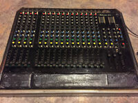 Console Studiomaster 12-2c Vintage 16 channels studio mixer