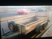 10x5 twin axle trailer 2600 kg