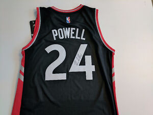 AUTOGRAPHED NORMAN POWELL JERSEY