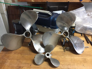 "12"" Stainless propellers"