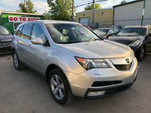 2012 Acura MDX Tech package SH-AWD SUV - Nav, camera, DVD