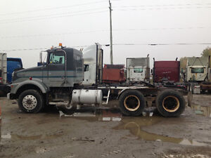 Parting out 1989 Kenworth T800